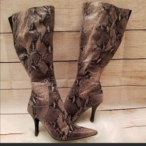 Nine West snake boots